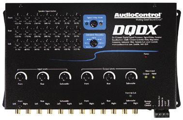 AUDIO CONTROL DQDX