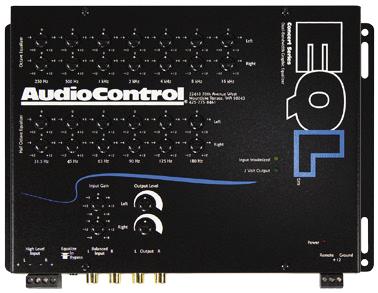 AUDIO CONTROL EQL