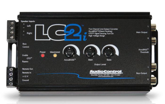 AUDIO CONTROL LC2i