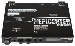 AUDIO CONTROL THE EPICENTER INDASH