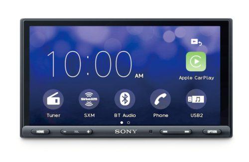 """SONY XAV-AX5000 6.95"""" CarPlay/Android Auto Media Receiver with BLUETOOTH"""